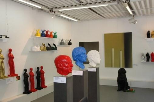 Ausstellungsraum Kunstmassnahmen Ottmar Hörl