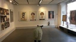 Ausstellung Lisa Torske KUNSTMASSNAHMEN