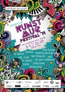 Kunstmue Festival 2019 Web Plakat mit Lineup