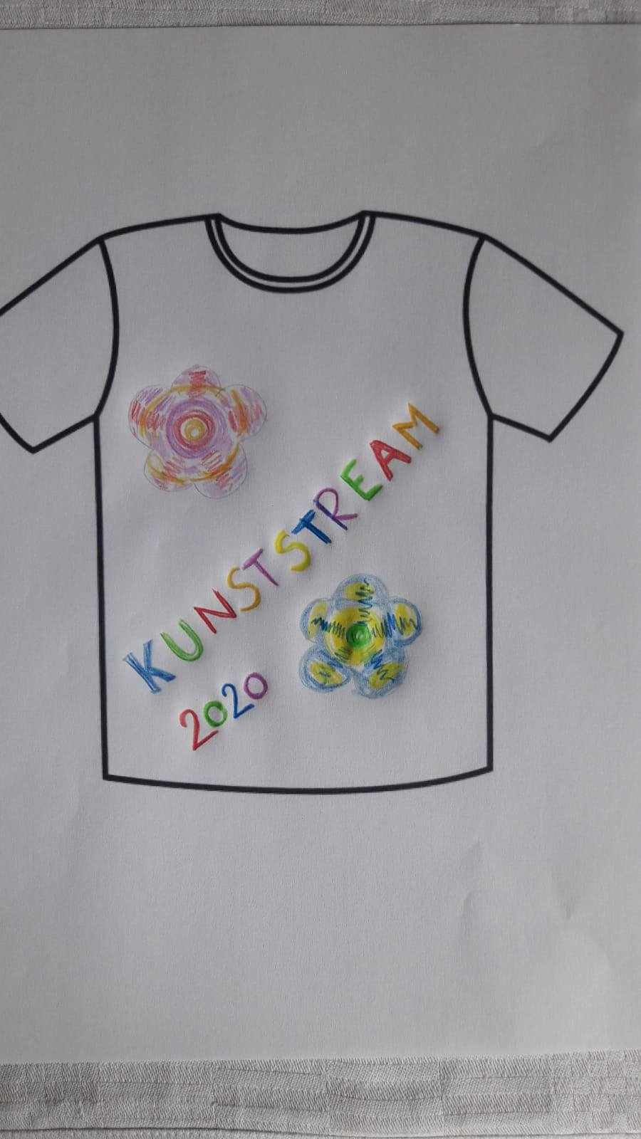 Kinder Shirt Design Beispiel