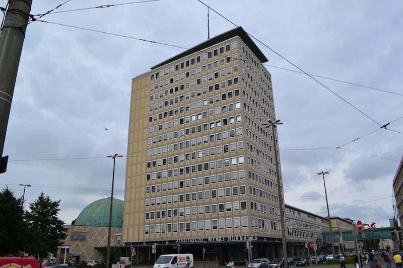 Plärrer-Hochhaus Nürnberg © Alexander Racz, Kunstnürnberg
