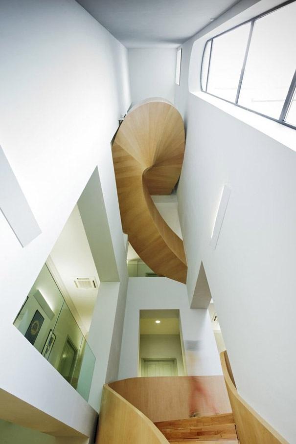 Das aussergewoehnliche Design der Treppe  KunsTopde