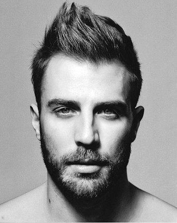 Modische Frisuren Für Männer Mit Kurzen Dicken Haare Kunstopde