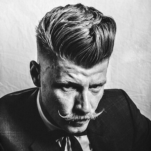 Old School Frisuren Für Mittellanges Haar Für Männer KunsTop De