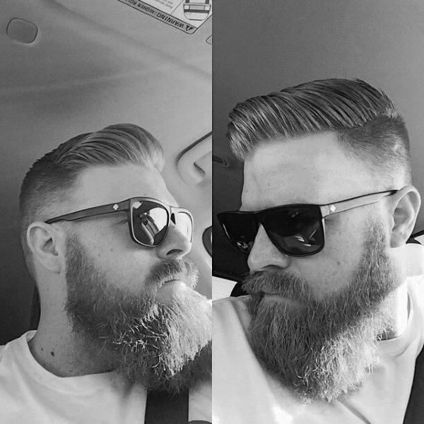 Old School Jungs Frisur Für Kurze Dünne Haare Seitenteil KunsTop De