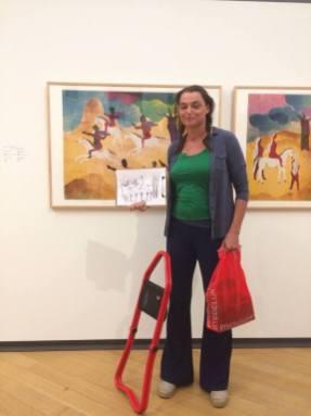 Ik dacht op een gegeven moment: 'ah, hij beschrijft een schilderij van Kandinsky'. Niet dus.