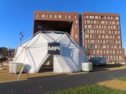 MIR: Mobiel interdisciplinair Ruimtestation. Bij Wageningen Universiteit.