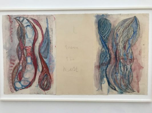 Louise Bourgeois, Deel van 'I Give Everything Away. Ets en gemengde techniek op papier, 2010