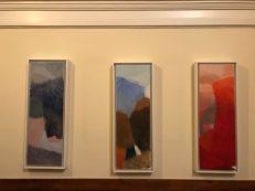 Mooie keuze. Olieverfschilderijen van Jan Baas. (ze hangen nu recht)