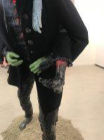Sjaak Kooij, detail Horeseback rider, resin, ceramics, styrofoam, pur foam, acrylics, spray paint, steel, textiles, 185 x 90 x 90 cm