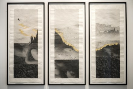 Margaret Lansink, Untitled 1, 2 and 3, combined as triptych