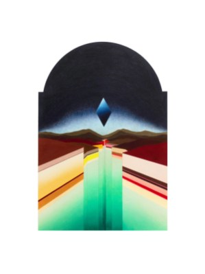 Patricia Paludanus, Haven, colored pencil, 70 x 90 cm.