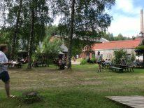 Tuin bij Not Quite, Fengersfors, Zweden