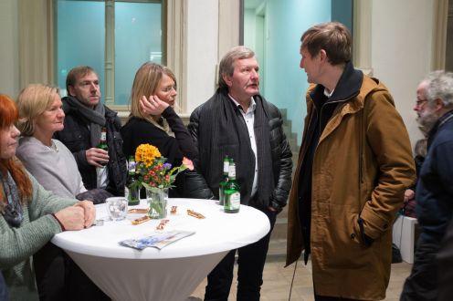 Kunstpalais Ausstellung Erlangen Ausstellungsdokumentation Christian Werner Stilleben BRD Lars Teichmann Aura 19. Januar 2016 Ausstellungseröffnung Deiss Preuß
