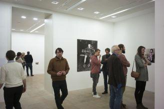 Besucher in der Ausstellung, Foto: Erich Malter