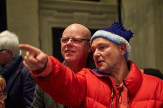 Volkmar Ziche (Club Transfer) mit Juergen Teller, Foto: Markus Faber