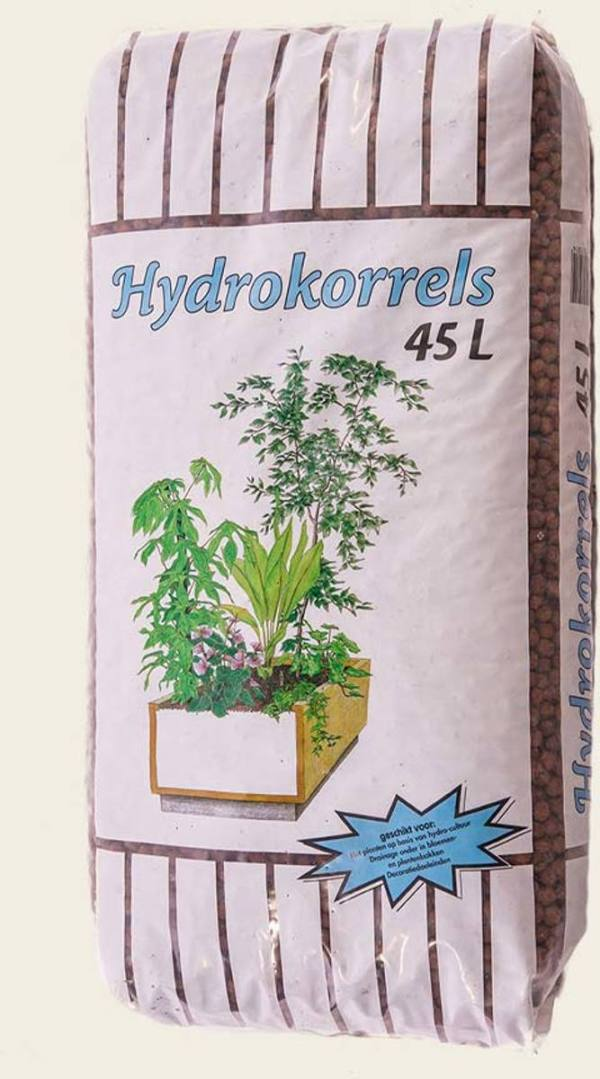 Hydrokorrels - 45 liter - Kunstplantshop.nl