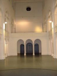Studio 1 Sichtachse zum Eingang