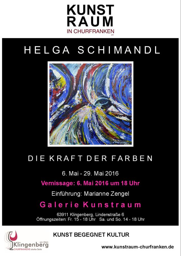 Plakat Helga Schimandl