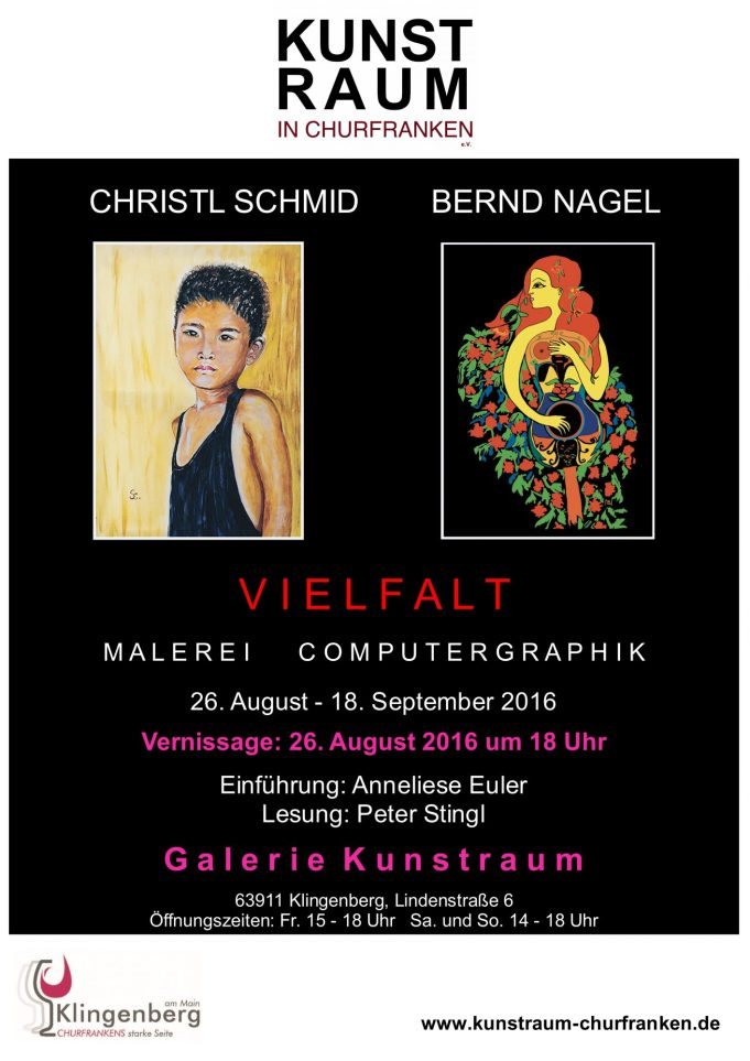 Vernissage Schmid/Nagel