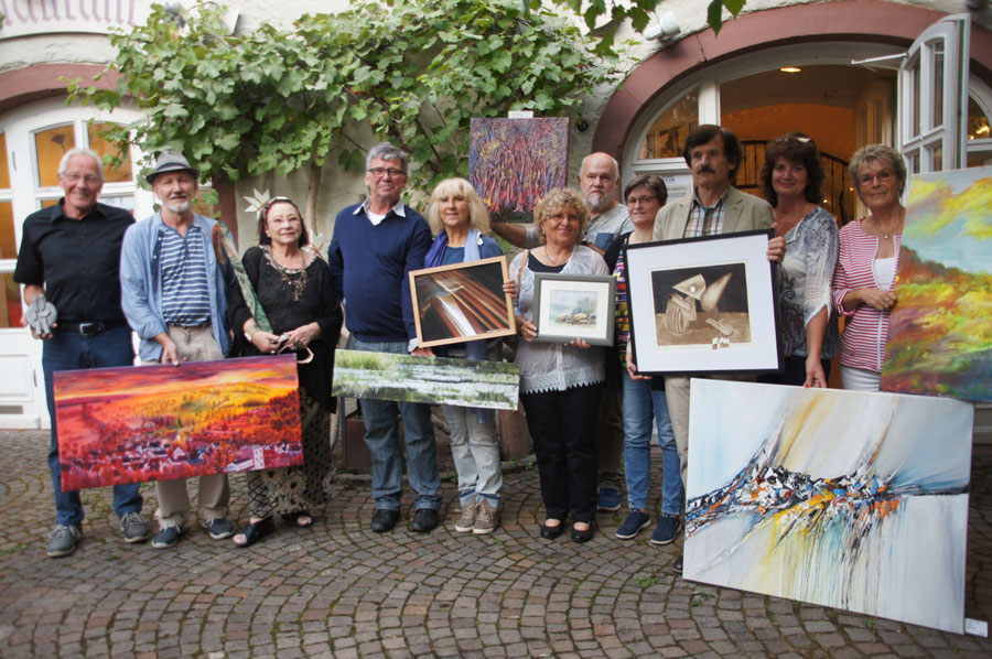 Vernissage – Querschnitt Teil 2 – 8.09.2018