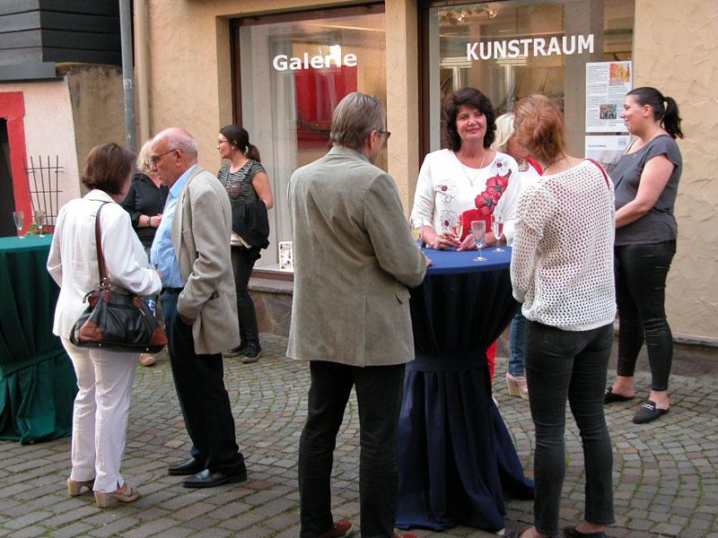 Vernissage – Helga Schimandl – Galerie KUNSTRAUM