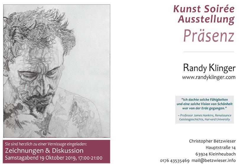 """Randy Klinger – """"Galerie im Koffer"""""""
