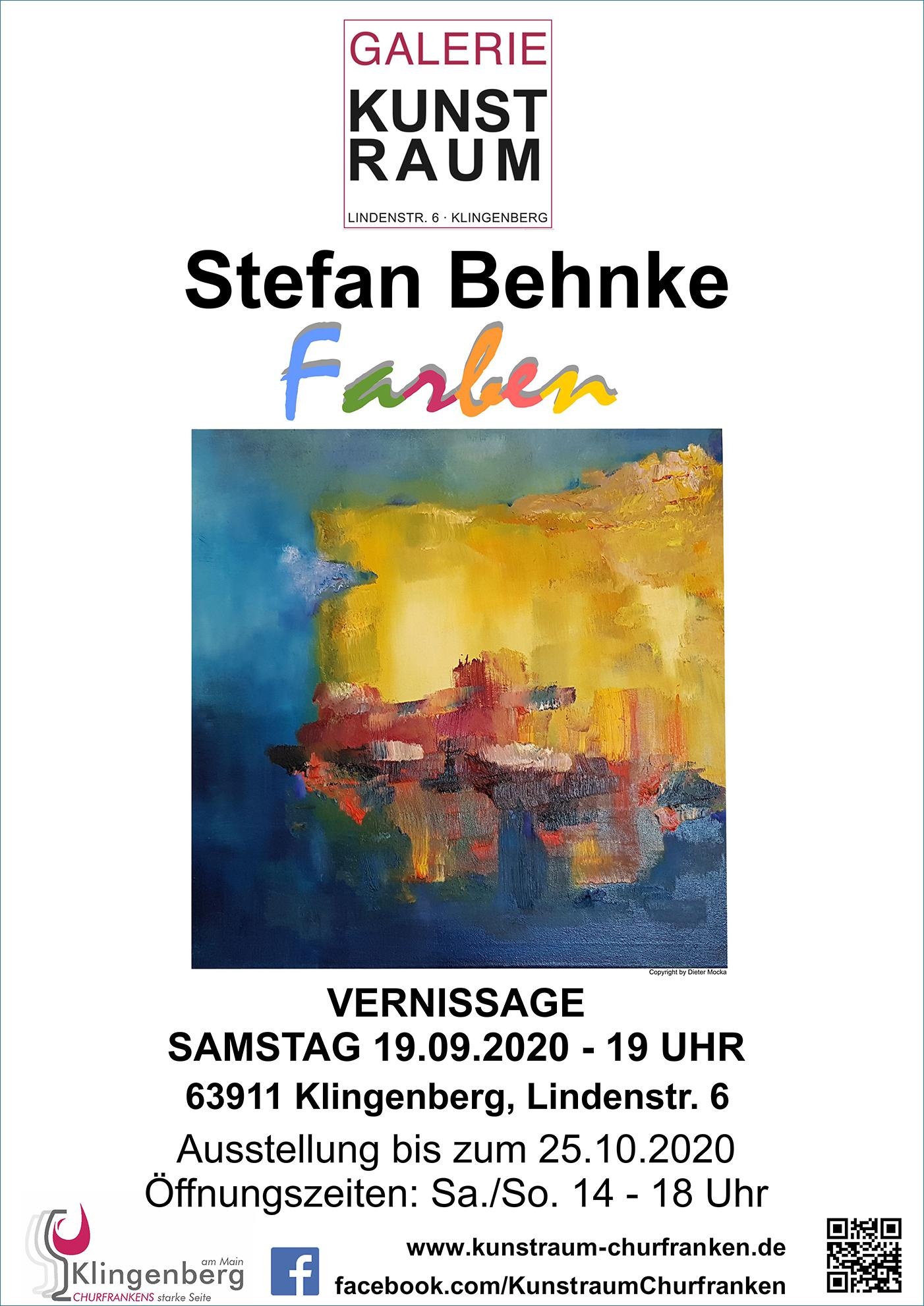 Ausstellung Stefan Behnke