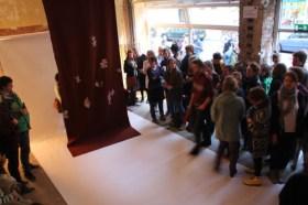 Performance SUPERIMPOSE von Alice Peragine - Installationsansicht © Alice Peragine