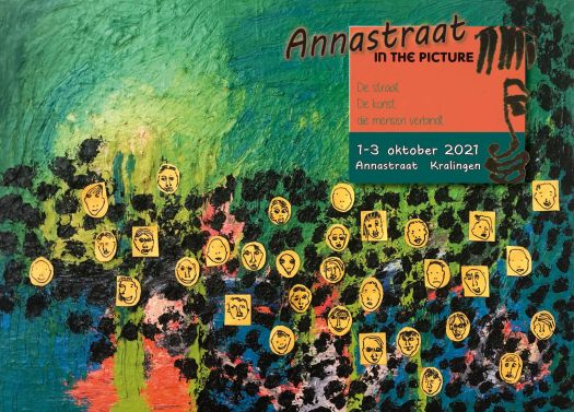 Annastraat in the picture