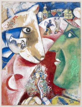 Marc Chagall - Ich und mein Dorf