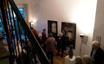 Blick in die Ausstellung in der Galerie Fox in der Kunststadt Mülheim