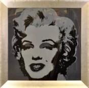Marilyn Monroe - donker grijs - Geert Jan Jansen
