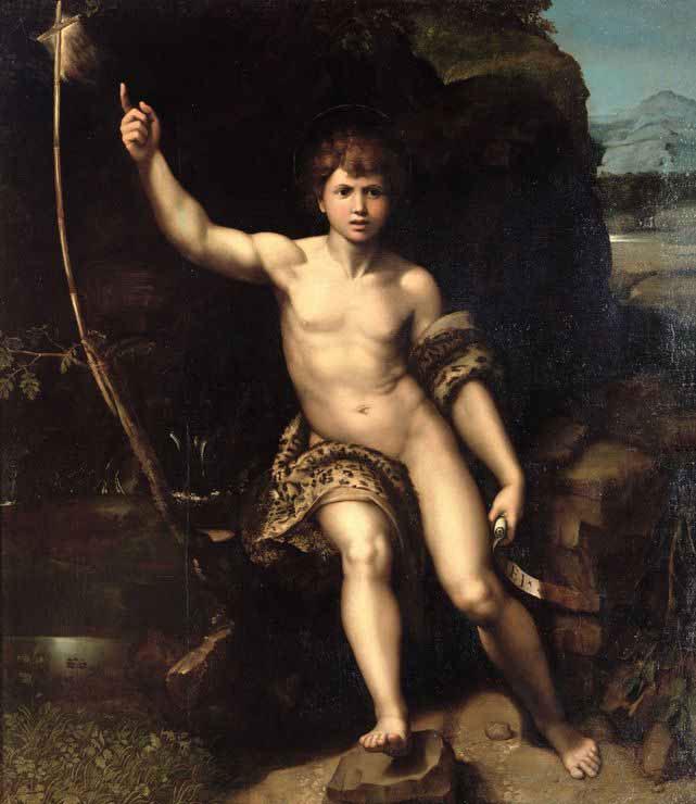 Rafael - Johannes de Doper