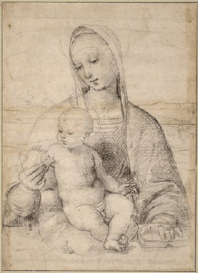 Rafael - Madonna met de Granaatappel