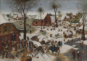 Pieter Bruegel II - Volkstelling in Bethlehem