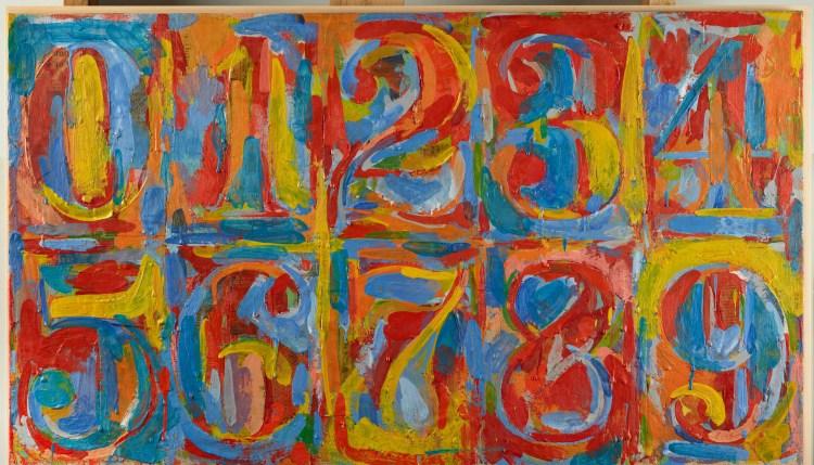 Jasper Johns - 0 to 9