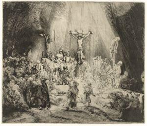 Rembrandt - de Drie Kruizen
