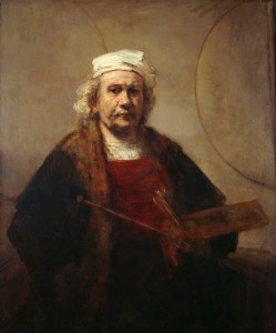 Rembrandt - Zelfportret als Oude Man