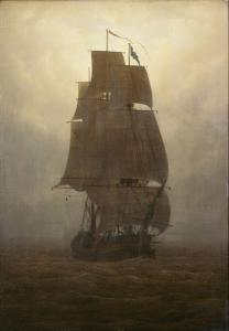 Caspar David Friedrich - Segelschiff