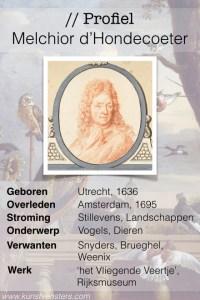 Profiel Melchior d'Hondecoeter