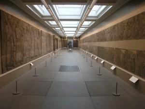 Reliefs uit Nimrud in het British Museum