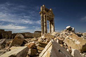 Palmyra - Verwoeste Tempel van Bel