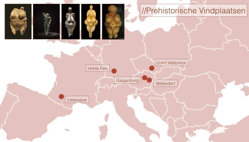 Vindplaatsen van prehistorische beelden