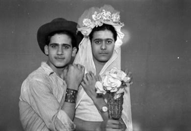 Akram Zaatari - Najm en Asmar. Studio Shehrazade jaren 50