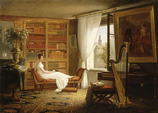Kamer van Madame Récamier - François-Louis Dejuinne