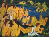 Ernst Ludwig Kirchner - Bathers at Moritzburg
