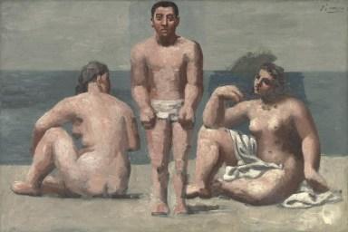 Pablo Picasso - Bathers