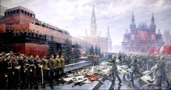 Mikhail Khmelko - de Triomf van Moeder Rusland