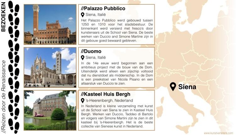 Reizen door de Renaissance - Siena